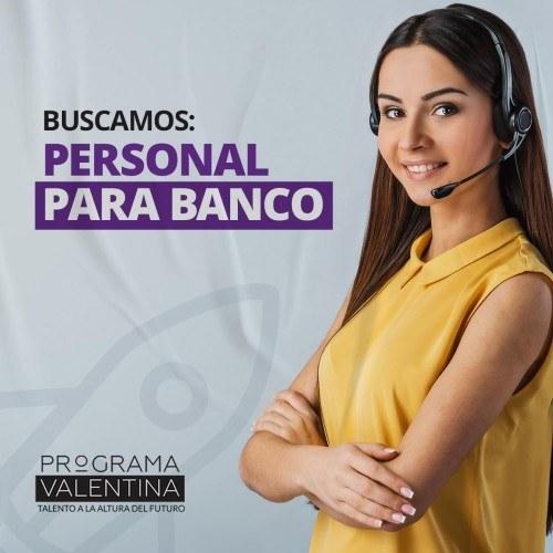 Guatemaltecos podrán aplicar a convocatoria para trabajar en bancos programa valentina