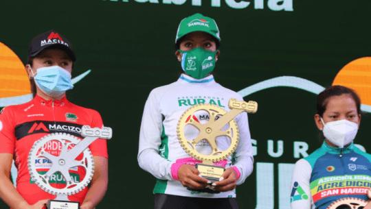Jasmin Soto, la mejor guatemalteca de la 20 Vuelta Femenina Internacional a Guatemala 2021