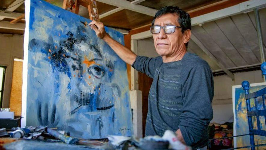 Juan Manuel Sisay, el artista de Santiago Atitlán que destacó con sus obras en el extranjero