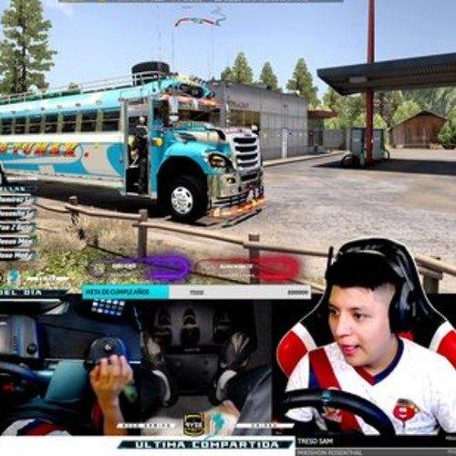 Marco Antonio Xicay Vásquez Originario de Quetzaltenango buses guatemaltecos American Truck Simulator
