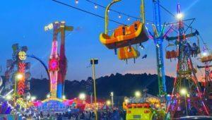 Parque de diversiones móvil Esquilandia en la Zona 6 capitalina   Junio - julio 2021