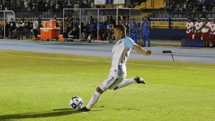 Partido Guatemala vs. San Vicente y las Granadinas en el Estadio Doroteo Guamuch   Junio 2021