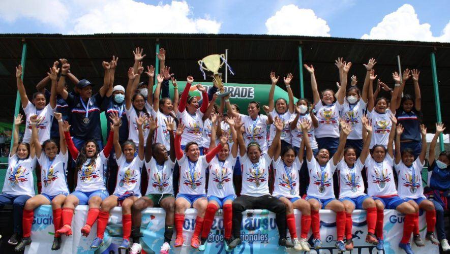 Resultado de la final Deportivo Xela vs. Cremas por el Torneo Clausura Femenino 2021 bicampeonas