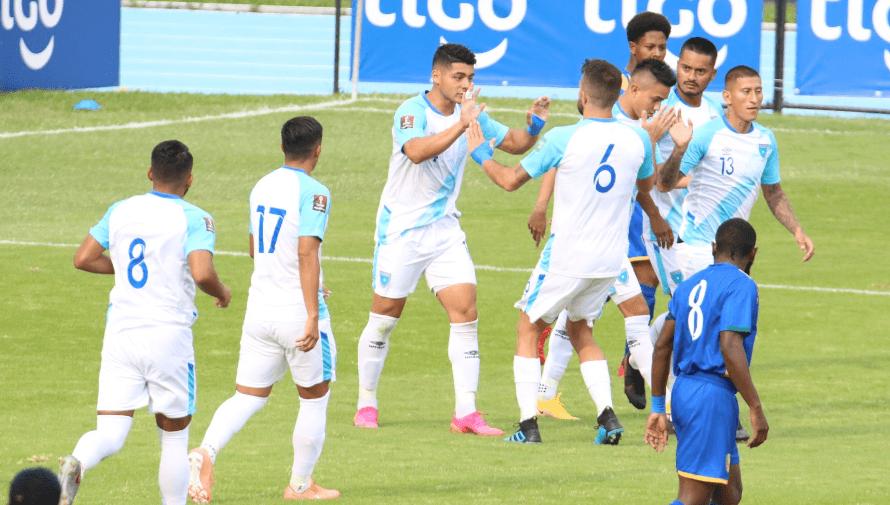 Resultado del partido Guatemala vs. San Vicente y Las Granadinas, Eliminatorias Qatar 2022