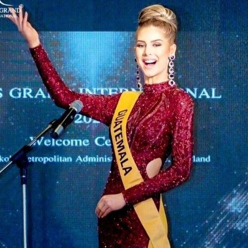 Video_ Ivana Batchelor se despedió como Miss Grand Guatemala 2020