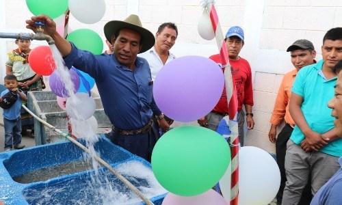 Water For People busca recaudar fondos para que guatemaltecos en Quiché puedan tener agua