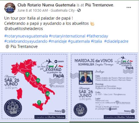 abuelitos heladeros club rotario nueva guatemala
