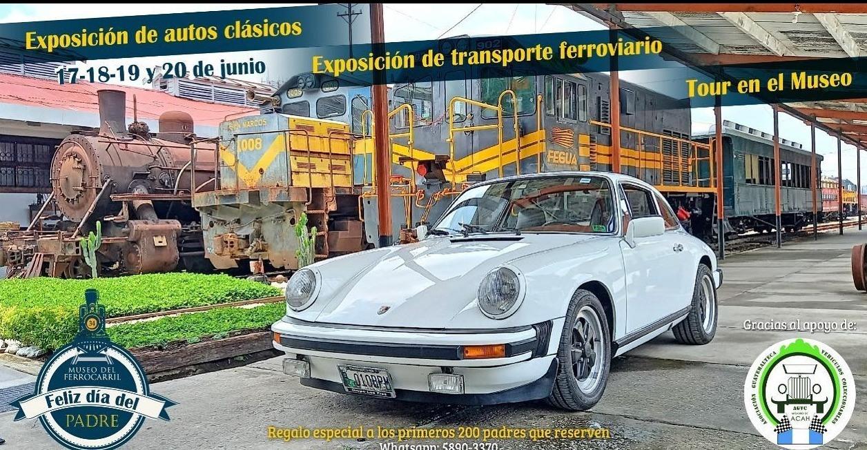autos antiguos museo del ferrocarril