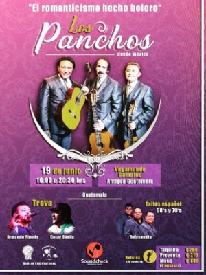 concierto los panchos antigua guatemala junio 2021