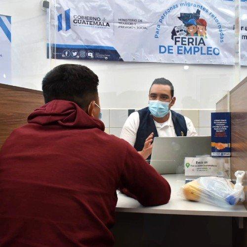 cuando sera la feria del empleo para migrantes retornados guatemala