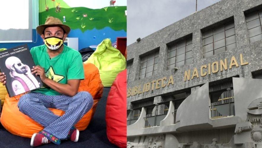 Domingo con actividades gratuitas en Biblioteca Nacional de Guatemala | Junio 2021