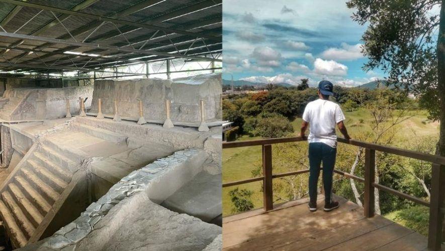 Domingo en parque arqueológico Kaminaljuyú, Ciudad de Guatemala | Junio 2021