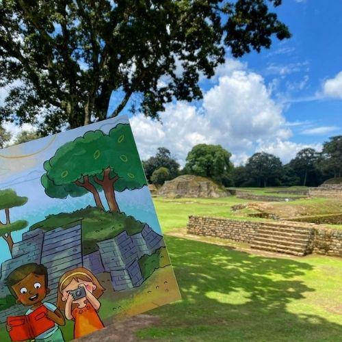 foto de libro exploremos guatemala de fundación cambia una vida