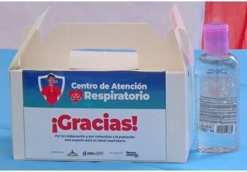 kit centro de atención respiratorio san pedro carcha