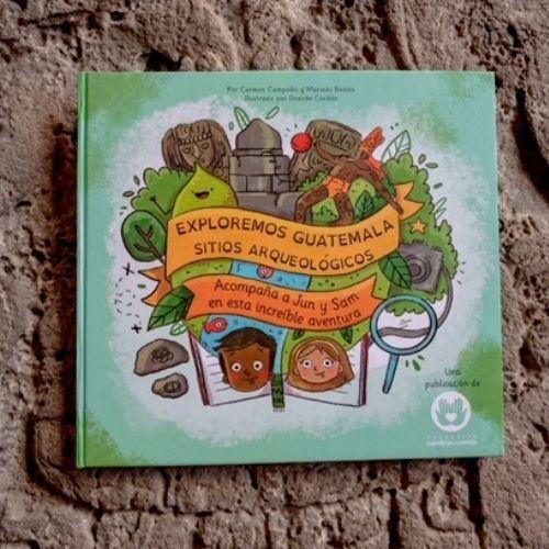 libro infantil Exploremos Guatemala