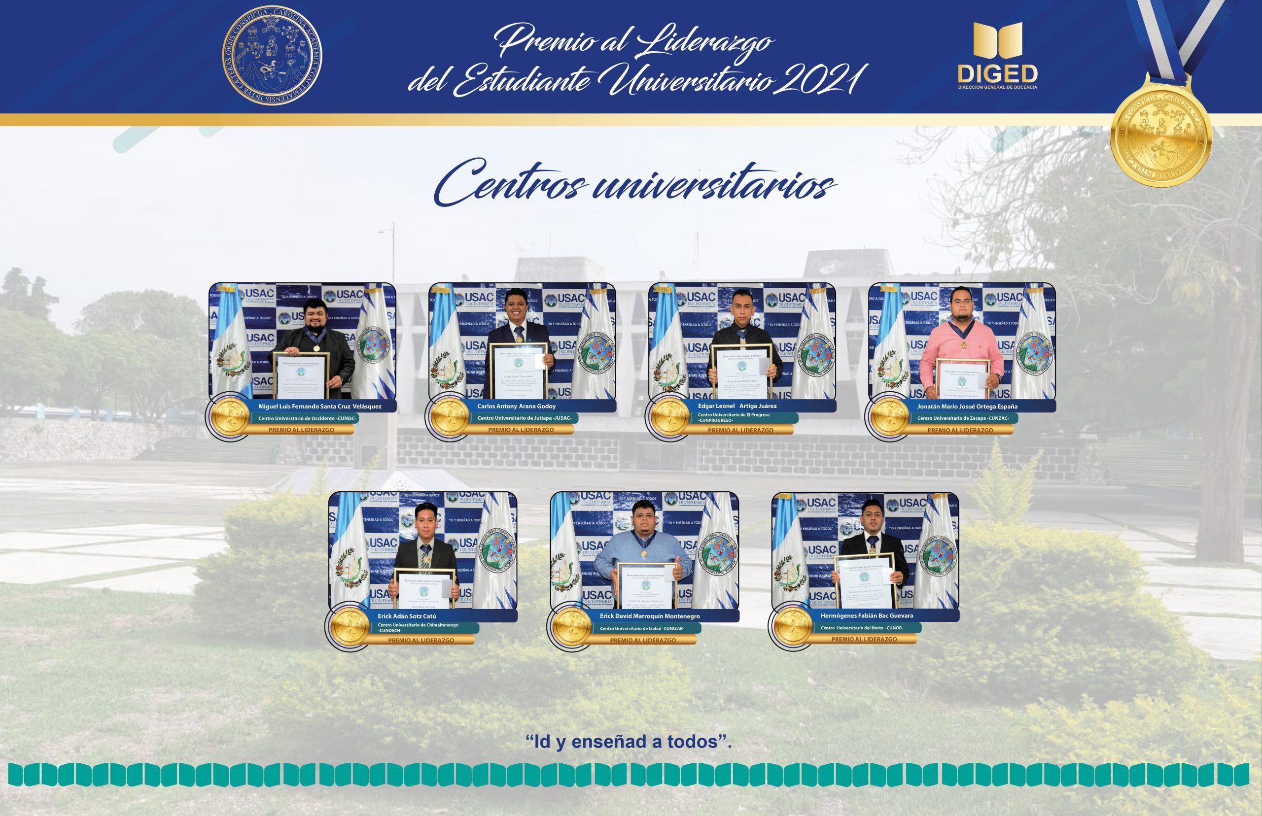 premio excelencia academica usac 2021 centros regionales