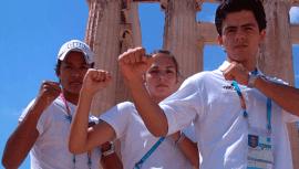 La brillante actuación del taekwondo de Guatemala en los Juegos Olímpicos de Atenas 2004