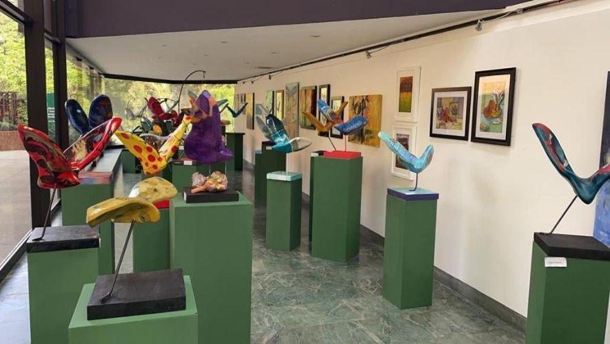 """Exposición artística """"Volar, Volar... y Volar"""" de Fundación Margarita Tejada   Julio 2021"""