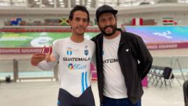 Julio Padilla lideró la actuación de Guatemala en el Campeonato Panamericano de Pista 2021