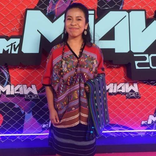 MTV MIAW 2021 Sara Curruchich recibio premio