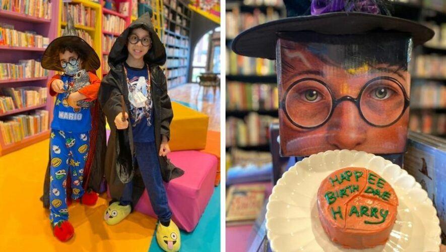Pijamada para festejar el Día de Harry Potter en KitaPenas Books & Bistro | Julio - Agosto 2021