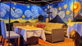 Posada de San Carlos, el hotel con murales inspirados en Vincent Van Gogh