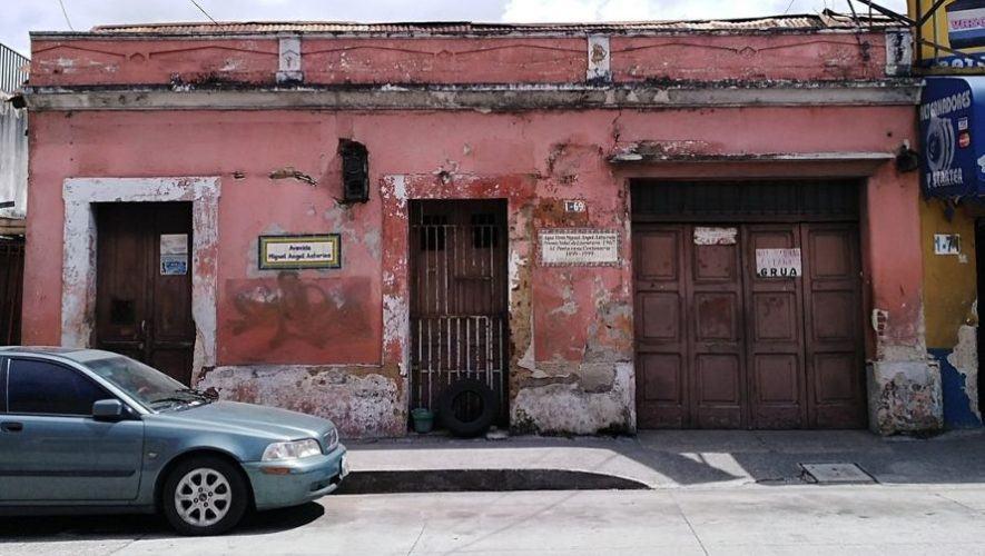Restaurarán antigua casa de Miguel Ángel Asturias en la zona 1 de Ciudad de Guatemala