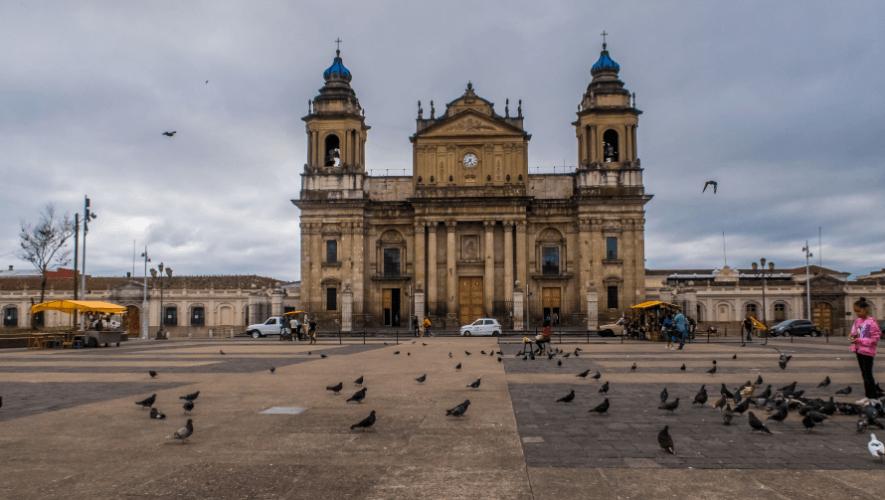 Descripción de la foto para personas con discapacidad visual: Imagen del icónico Arco de Santa Catalina en La Antigua Guatemala. (Crédito: Terry White/Flickr)