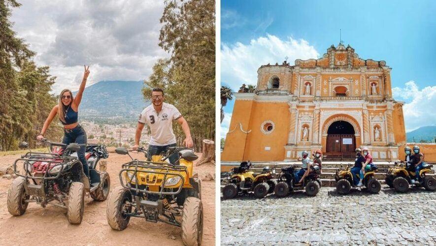 Tour en cuatrimoto por los alrededores de Antigua Guatemala   2021