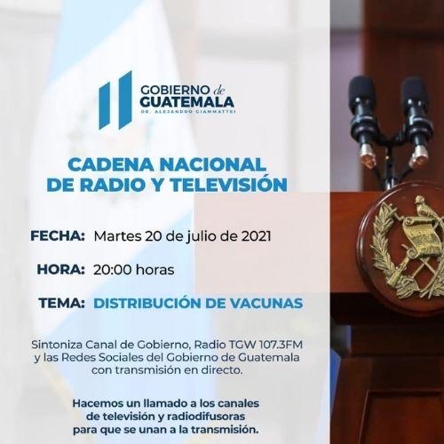 cadena nacional presidencial mensaje vacunas