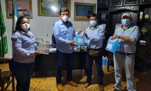 donación de insumos y kits ingenios Guatemala