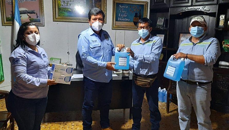 Ingenios de Guatemala donaron insumos y kits por Covid-19 en la Costa Sur, julio 2021