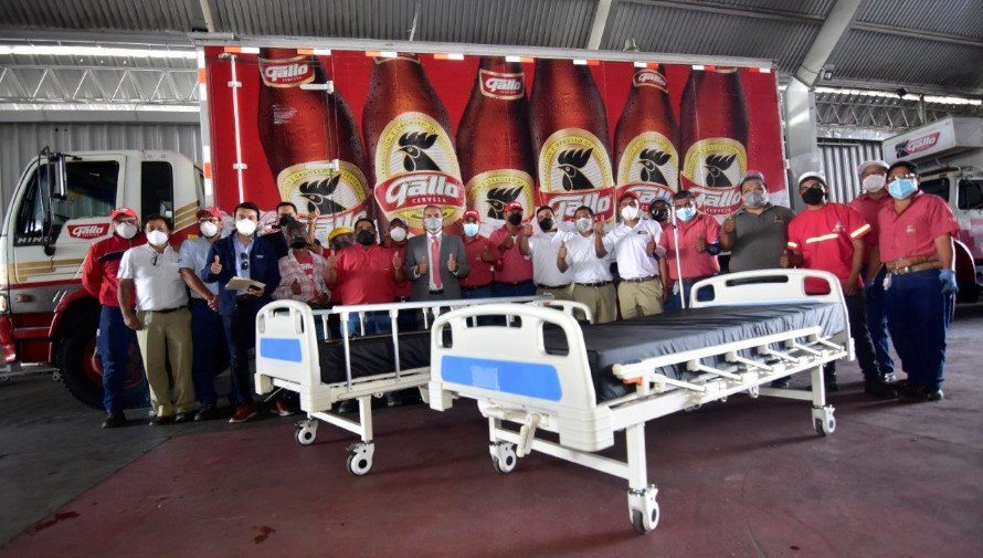 COVID-19: Empresas guatemaltecas donaron 150 camas para pacientes
