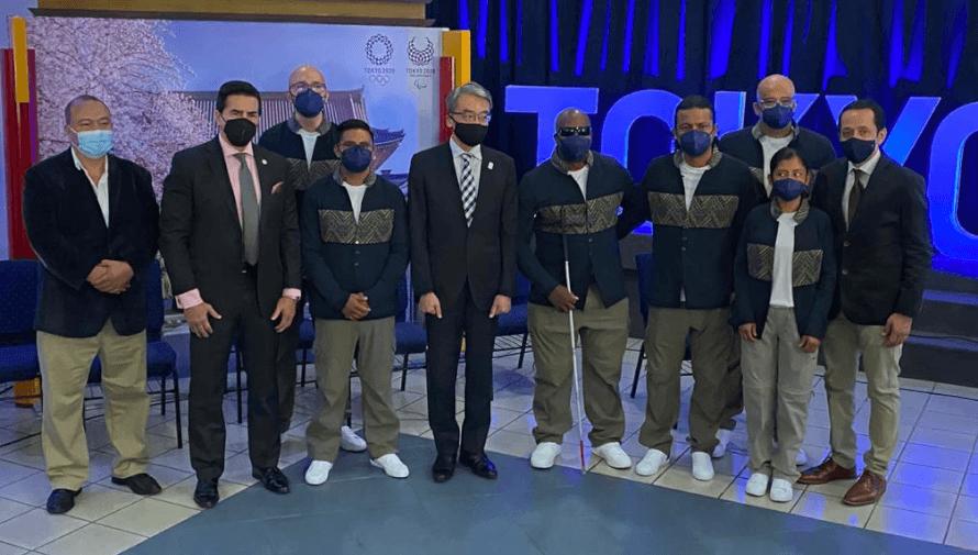 Delegación de Guatemala es juramentada para los Juegos Paralímpicos de Tokio 2020