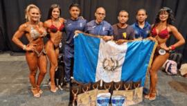 Guatemala se llevó 13 medallas y 2 títulos del Campeonato Centroamericano y del Caribe 2021