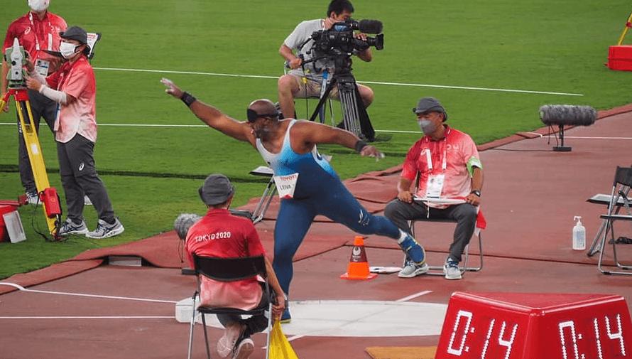 Isaac Leiva terminó en el puesto 11 de los Juegos Paralímpicos de Tokio 2020