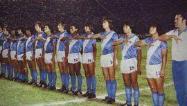 La selección de fútbol de Guatemala que ganó medalla en Juegos Panamericanos de Caracas 1983