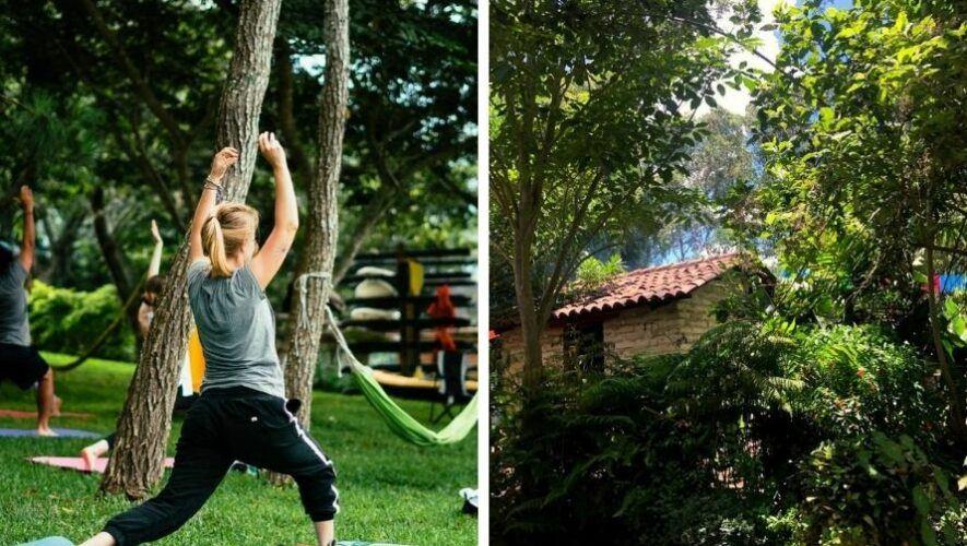 Mañana de práctica de yoga en Antigua Guatemala | Agosto 2021