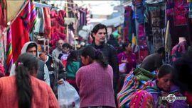 Alan Por El Mundo compartió un video de su visita al Mercado Central de Chichicastenango
