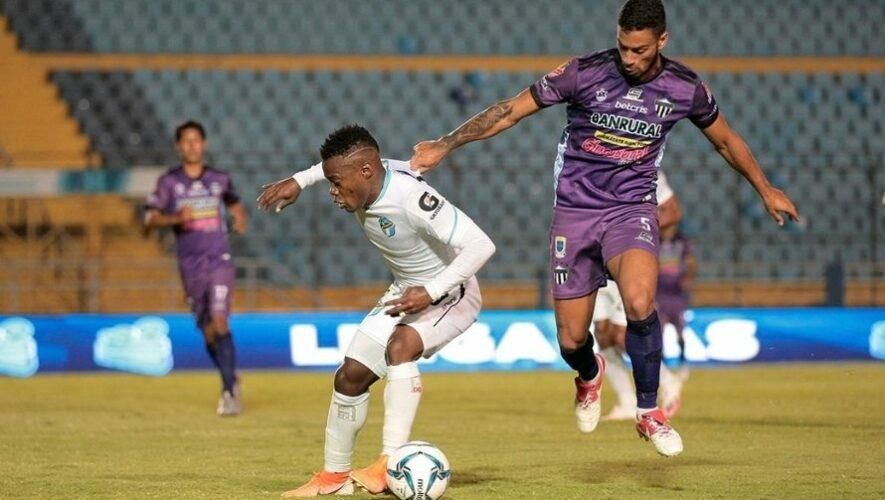 Partido de Antigua GFC y Comunicaciones, jornada 6 del Torneo Apertura   Agosto 2021