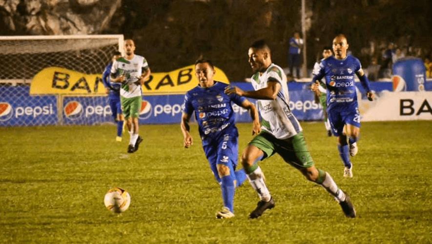 Partido de Cobán Imperial vs. Antigua GFC, jornada 7 del Torneo Apertura   Agosto 2021