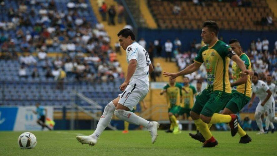 Partido de Comunicaciones vs Guastatoya, jornada 7 del Torneo Apertura   Agosto 2021