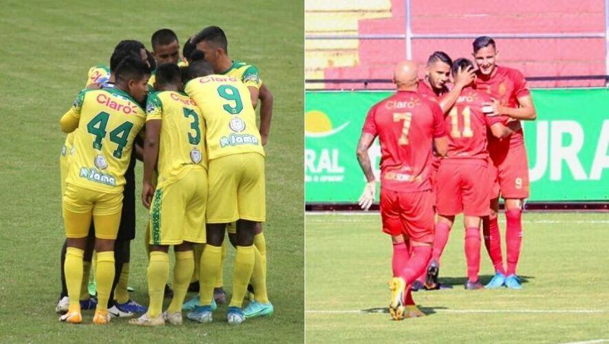 Partido de Nueva Concepción vs. Municipal, jornada 7 del Torneo Apertura   Agosto 2021