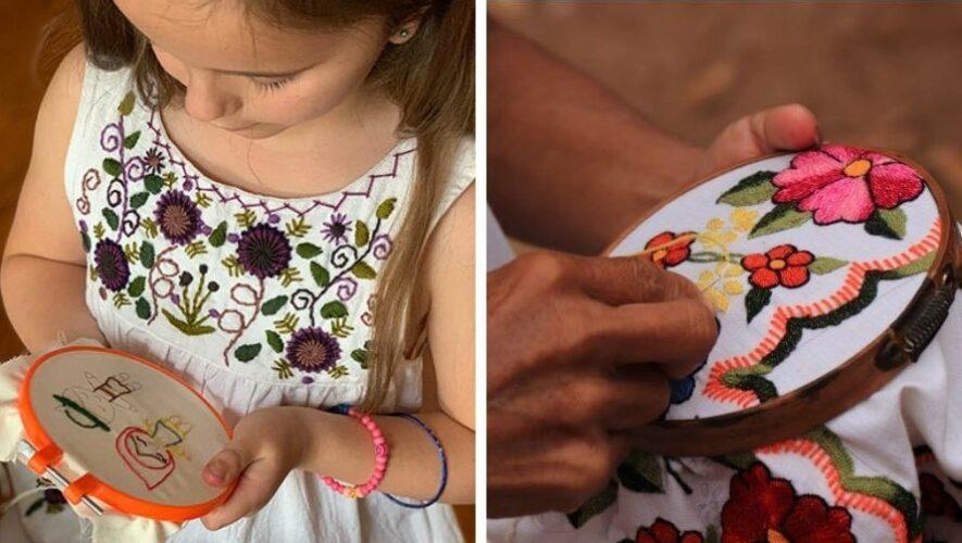 Taller de bordado textil maya para niños y jóvenes, Guatemala | Septiembre 2021