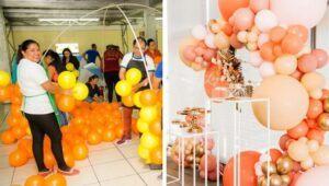 Taller presencial de decoración de globos, Quetzaltenango   Agosto 2021