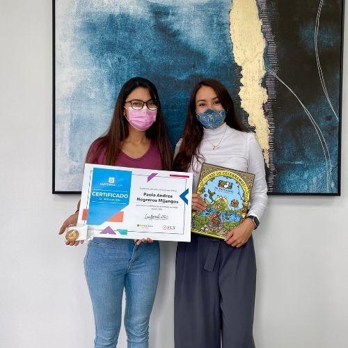 ganadora de beca guatemala.com