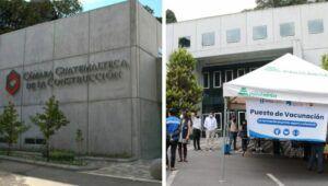 Días y horarios para vacunarse en la Cámara de Construcción, Guatemala | 2021