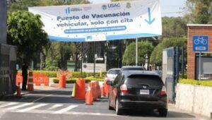 Vacunación en Universidad de San Carlos de Guatemala, Campus Central | Agosto 2021