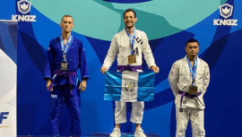 Luis Ángel González ganó medalla de oro en el Campeonato Panamericano de Jiu Jitsu 2021