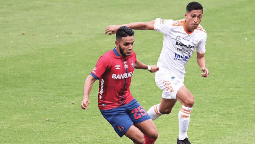 Partido de Municipal vs. Achuapa, jornada 8 del Torneo Apertura  Septiembre 2021